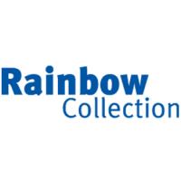 Het bedrijfslogo van de Rainbow collection, één van de partners van J. Meijering Montage