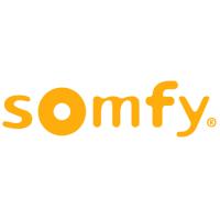 Het bedrijfslogo van Somfy, één van de partners van J. Meijering Montage